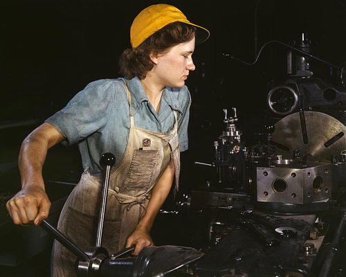 Woman Machinists of World War 2