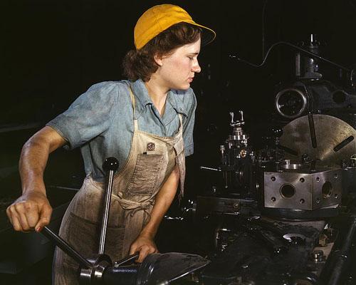 Woman Machinists of World War 2