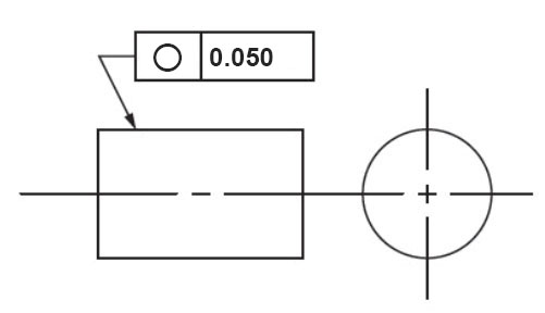 Easy Gdt Circularityroundness Symbol Tolerance Measurement