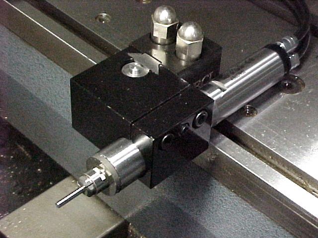 Live tooling for a gang lathe