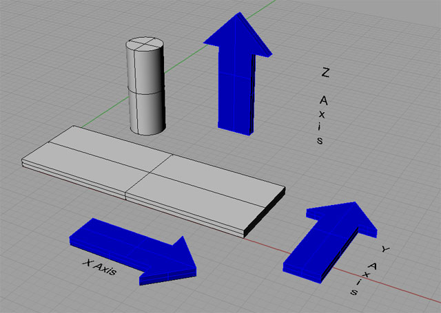 Mach Mill > How to reverse Z and X axis in Mach3 ?