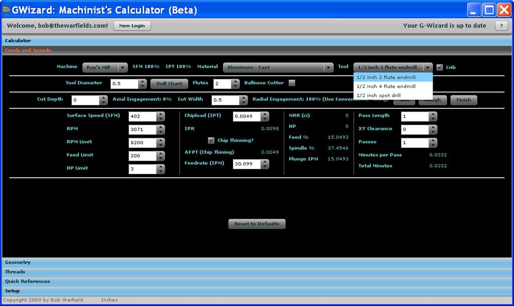 ((TOP)) G-Wizard CNC Calculator.torrent GWizToolCribFS