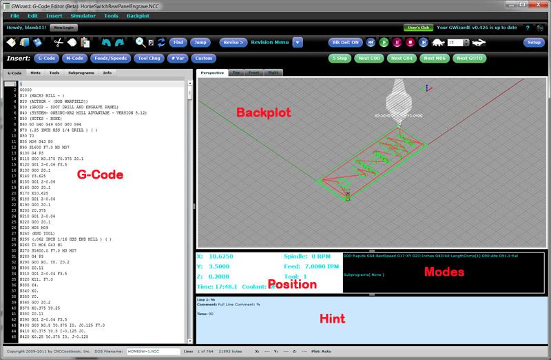 Simulator Screen Areas