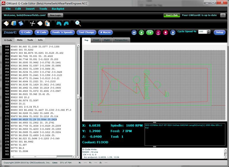 GWizard G-Code Software