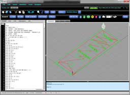 G-Wizard G-Code Editor and Simulator