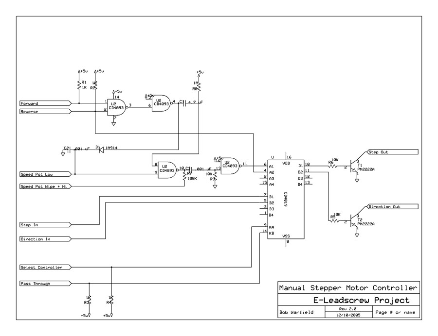 Building a Manual Stepper Controller