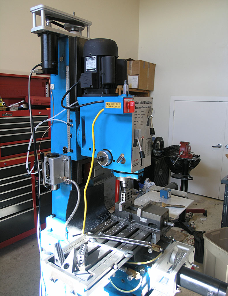 Cnc Conversion Rf 45 Milling Machine