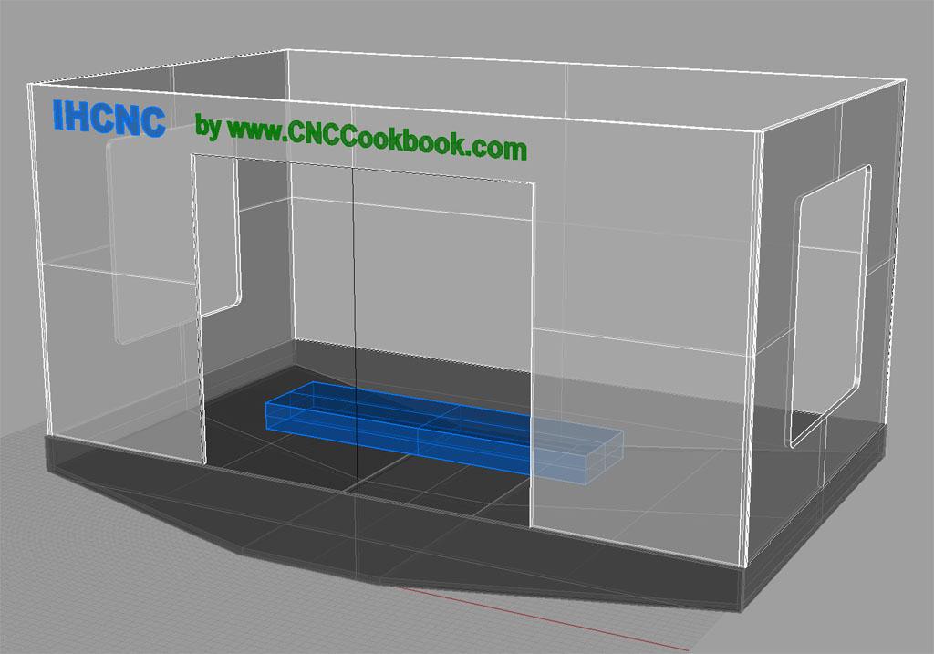 cnc machine enclosure