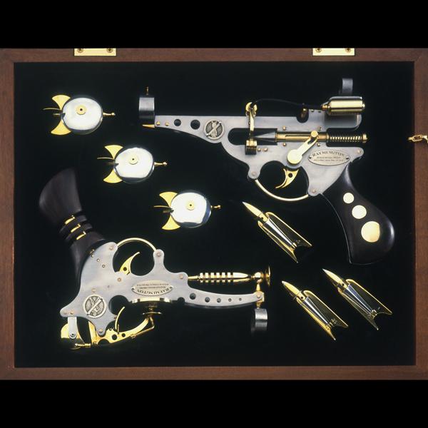 Steampunk Dueling Pistols
