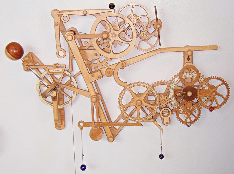 Изготовление механизма часов своими руками 30