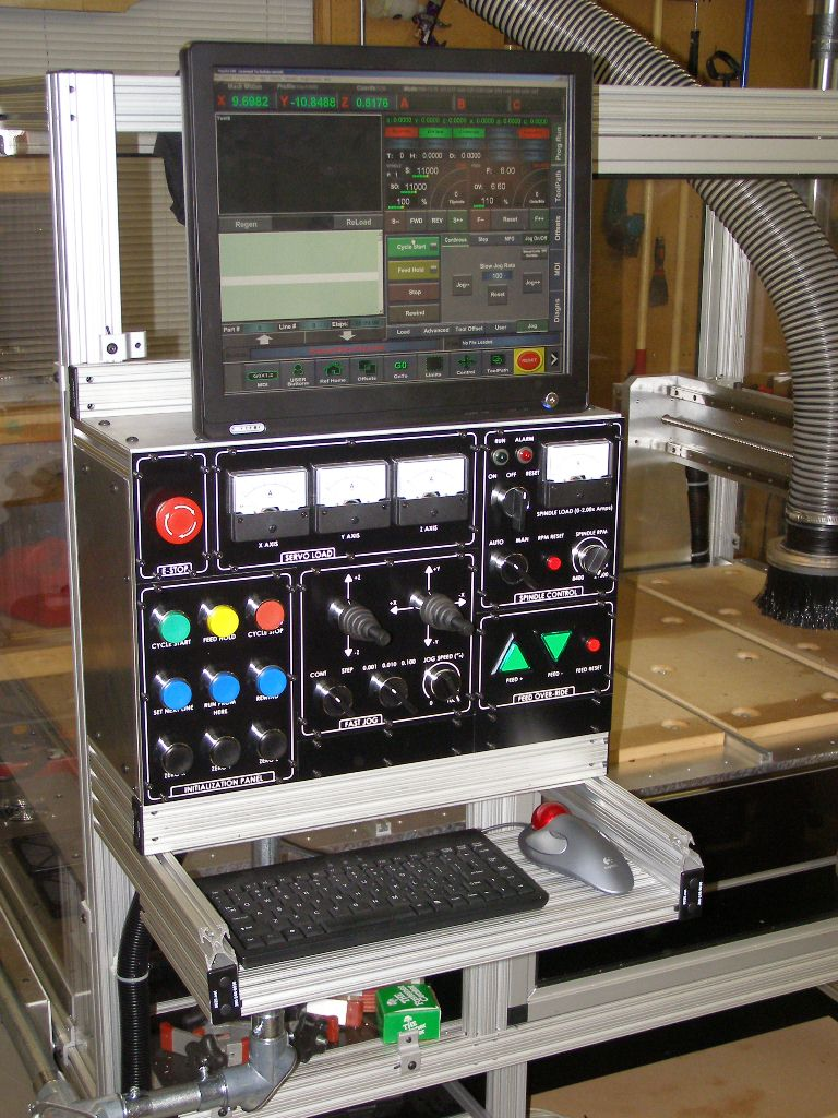 Router CNC Control Panel