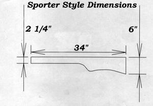 Notes on CNC'ing Rifle Stocks