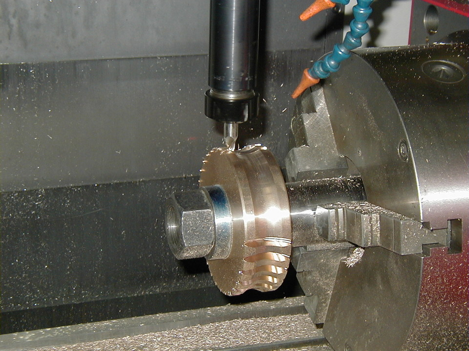 4th Axis Gear Machining