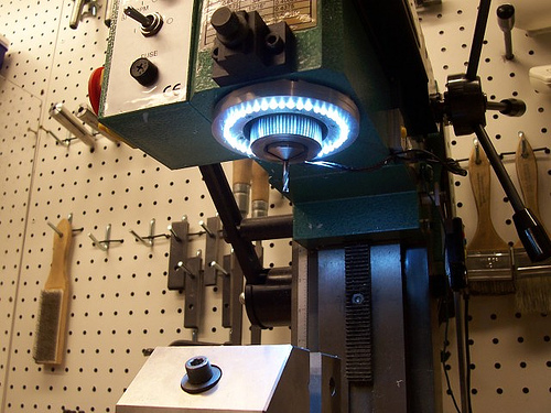how to make a drill press into a milling machine