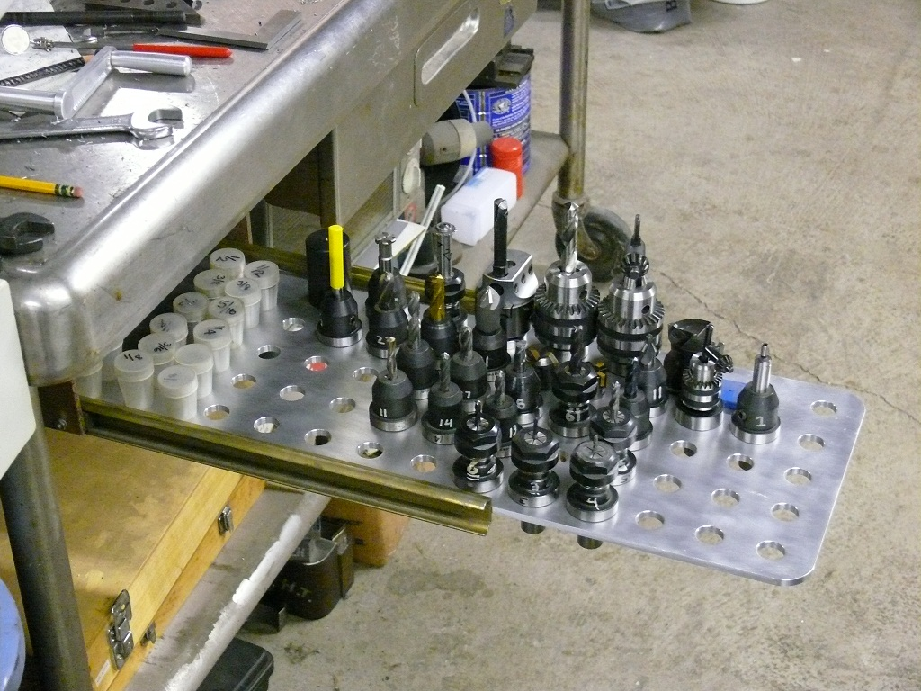 Making A Custom Tooling Drawer For ER Collets And