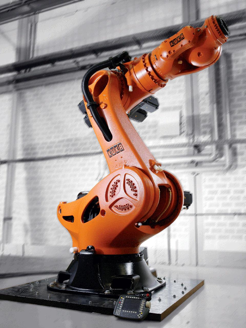 Промышленный робот манипулятор своими руками 66