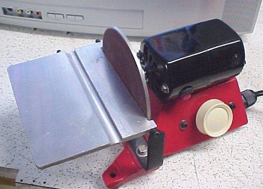 Belt grinder parts