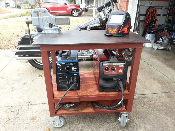 nice basic table that includes a well for plasma cutting seems to me a pullout or flip up plasma surface thats a little larger would be a neat feature for