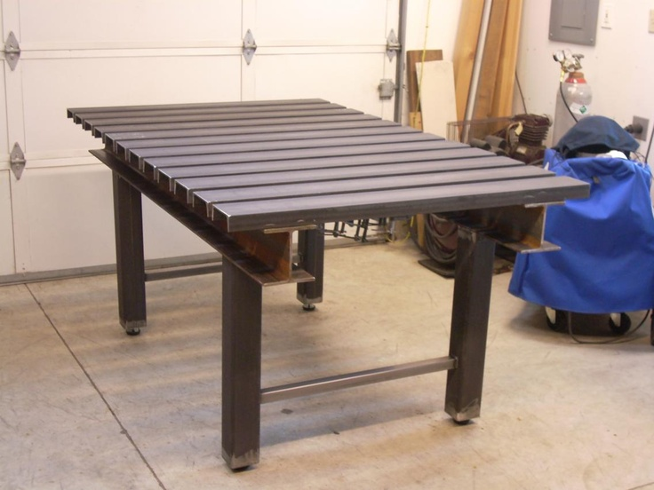 Welding Table Designs tig welding table to store my weld set up Diy Welding Table And Cart Ideas