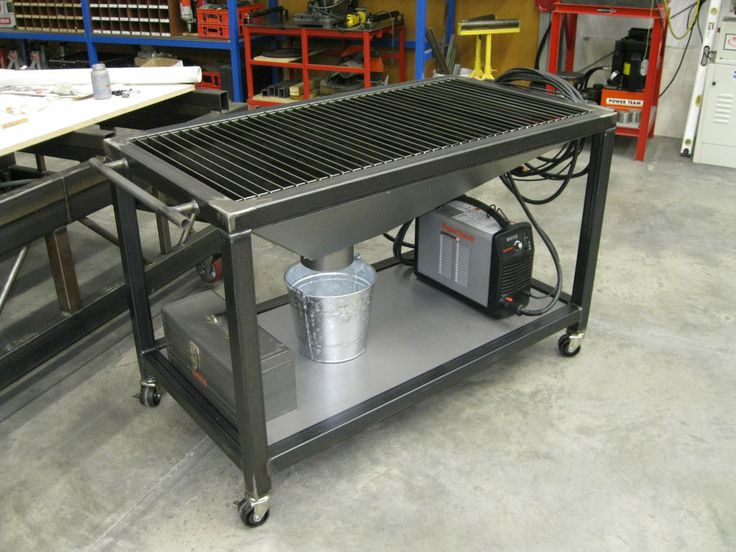 Welding Table Designs this could be the ultimate welding table page 6 the garage journal board Diy Welding Table And Cart Ideas
