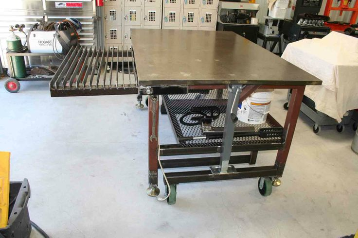 Complete DIY Welding Table and Cart Ideas [50 Designs]