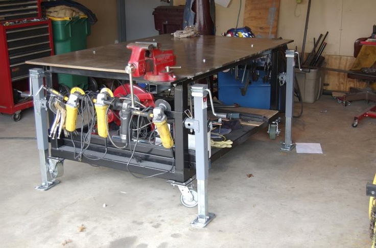 Diy Welding Table And Cart Ideas Part 2