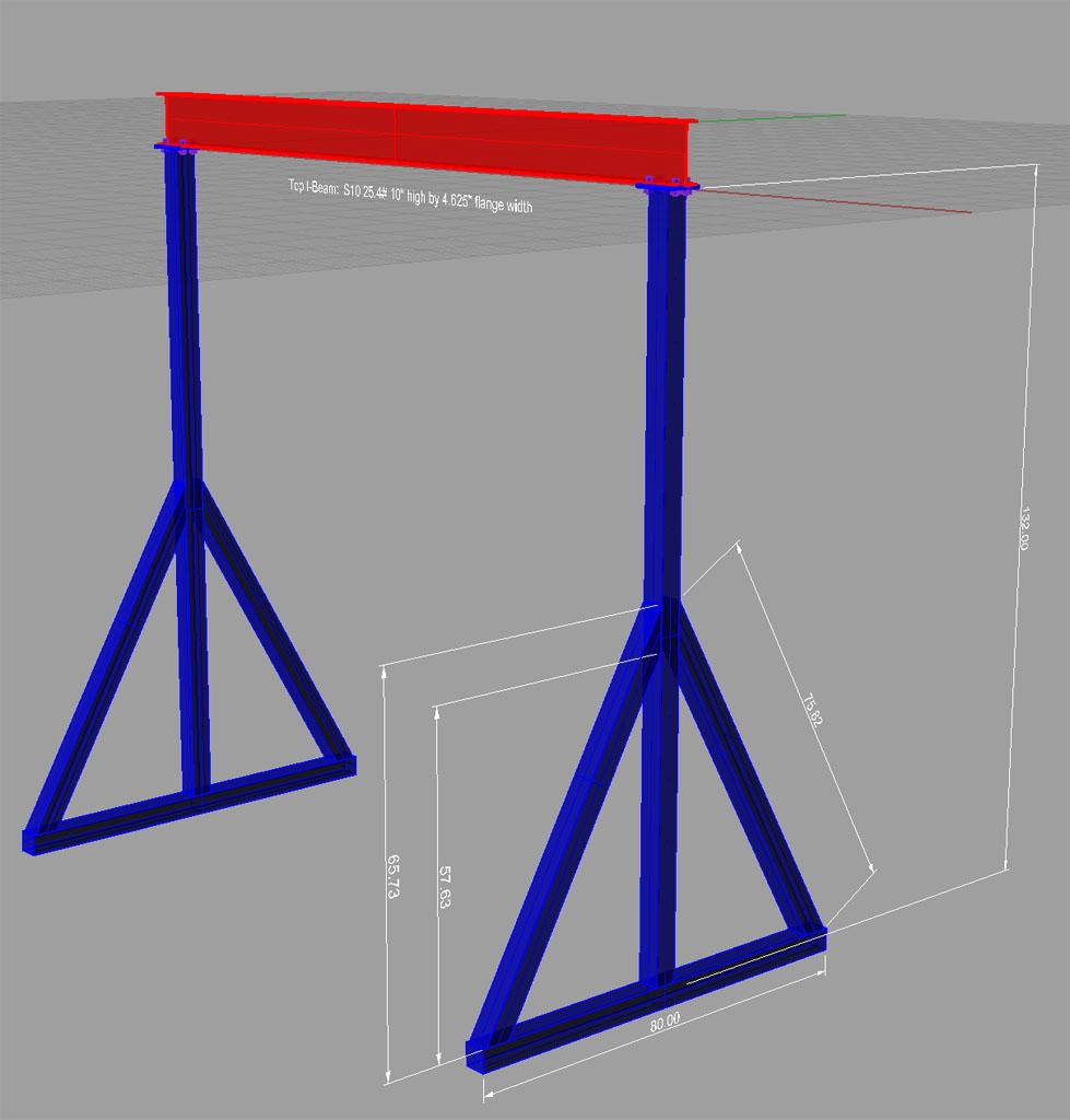 Homemade Gantry Crane Plans - Homemade Ftempo