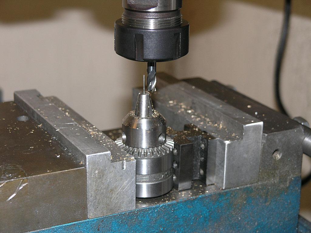 Cnc Drilling Fixture : Cnc cookbook verburg s reversible open column con rods
