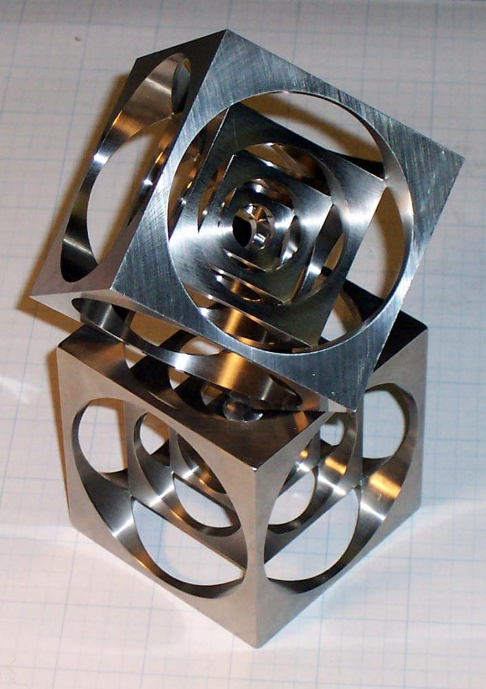 How To Make A Cnc Turner S Cube Creative Cnc Project