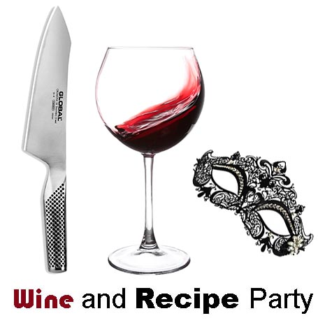 Wine and Recipe Party