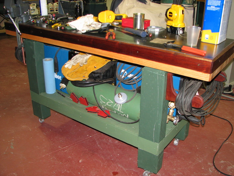 Wood craft maker guide to get welding bench design for Plan fabrication table