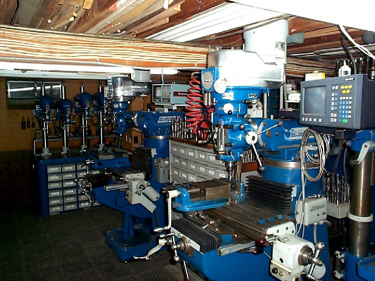 machine workshop drill press garage layout organization basement shops metal machinist cnc presses tools same gang storage plans studio another