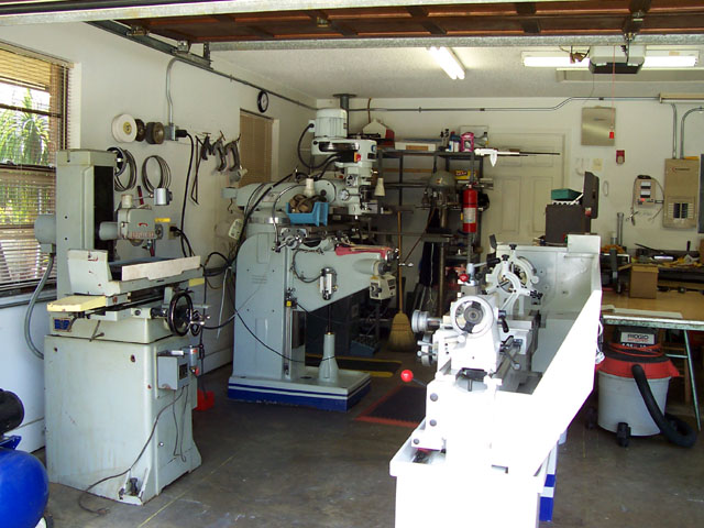Mill, lathe, and surface grinder. It's all there! Lathe is a ...