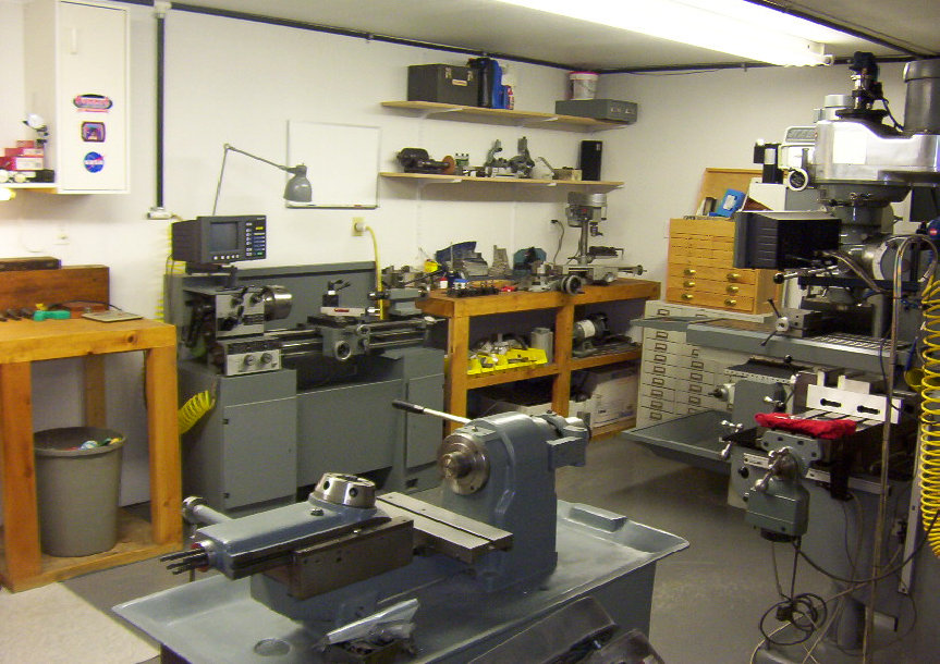 workshop cnc garage organized machines layout well tools machinist organization tidy machine precision cnccookbook