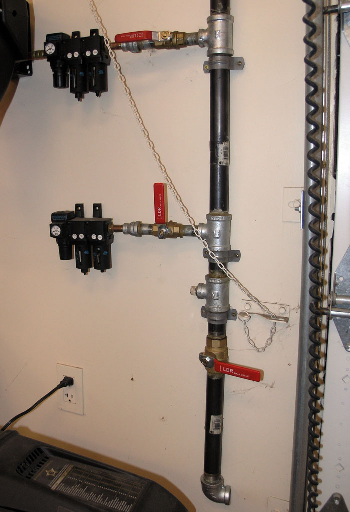 Air Compressor System Design & Plumbing