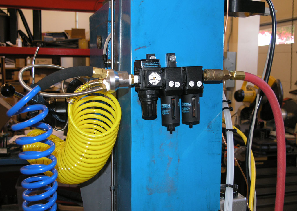 Plumbing A Shop Air System